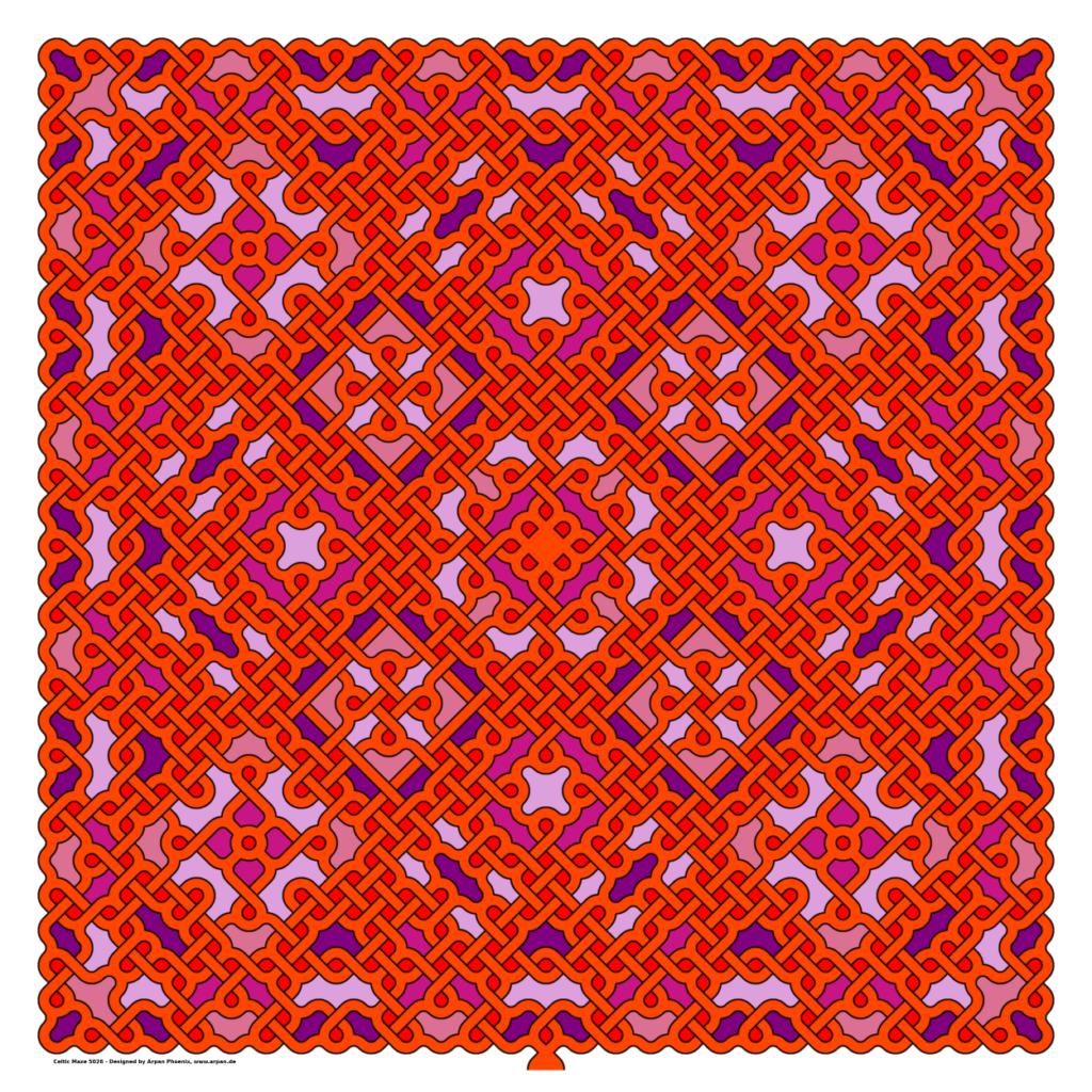 Celtic Maze 5026