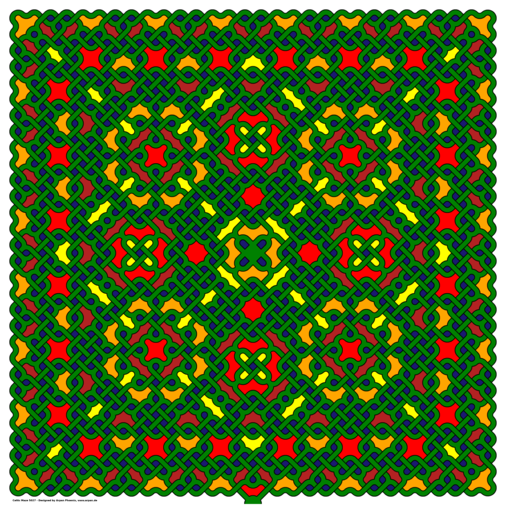Celtic Maze 5027