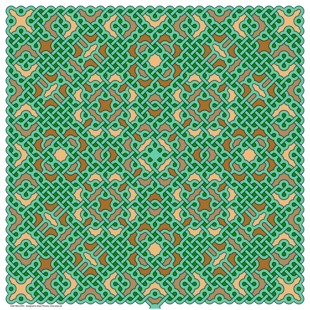 Celtic Maze 5031