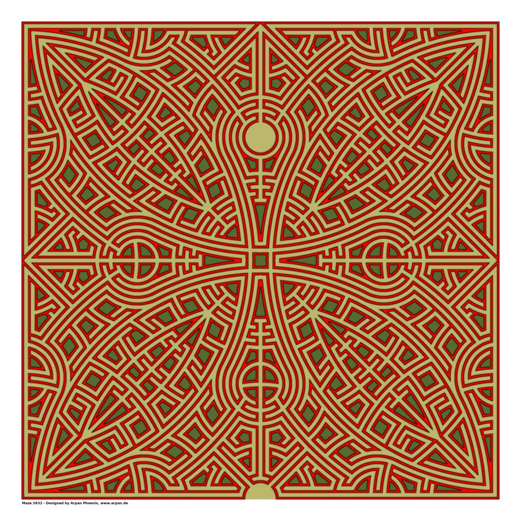 Maze 2832